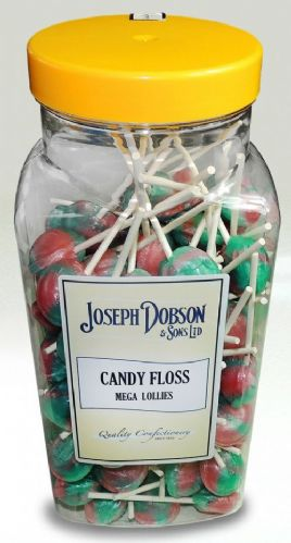 Joseph Dobson Candy Floss Mega Lollies